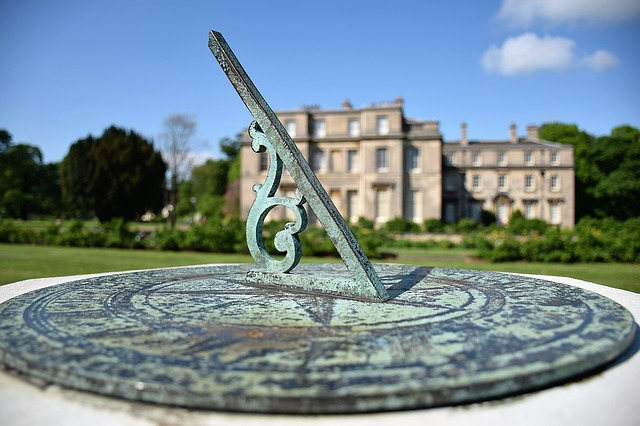Sundial at Normanby Hall