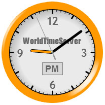 Current time in Tirane, Albania